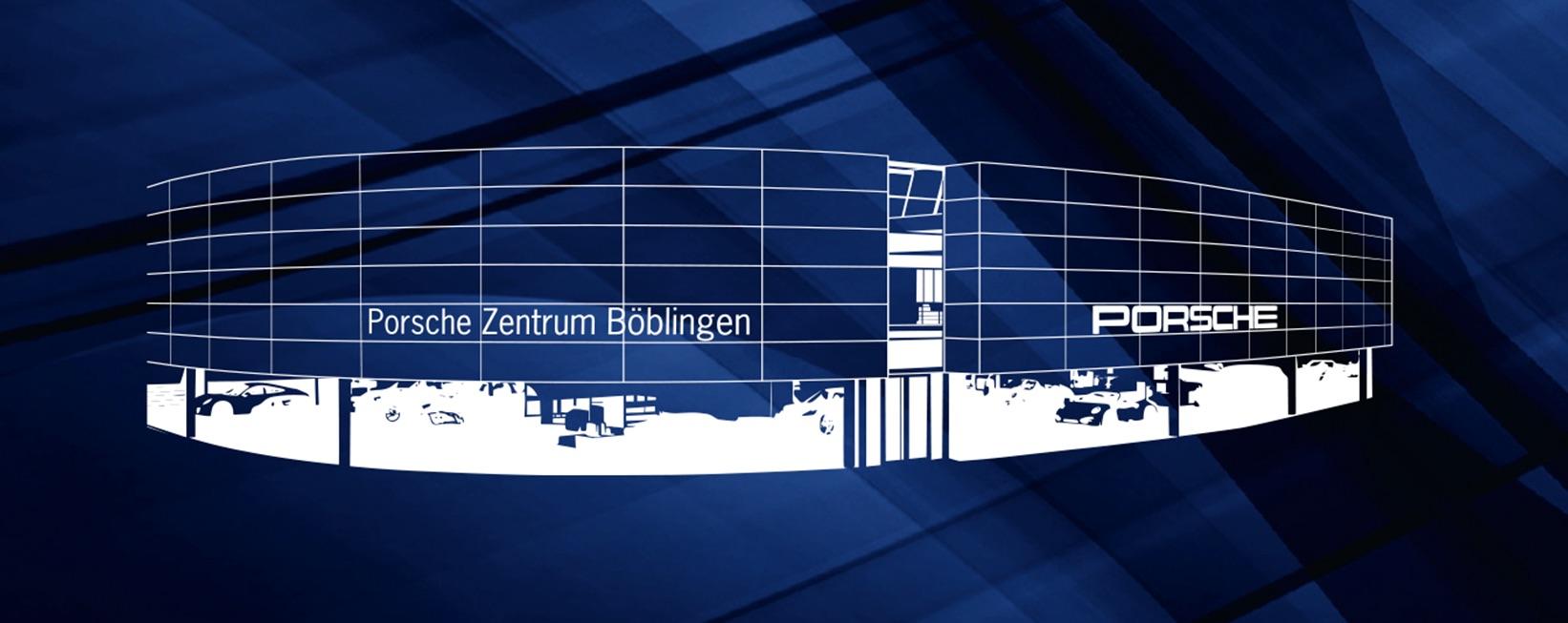 Das Porsche Zentrum in Böblingen