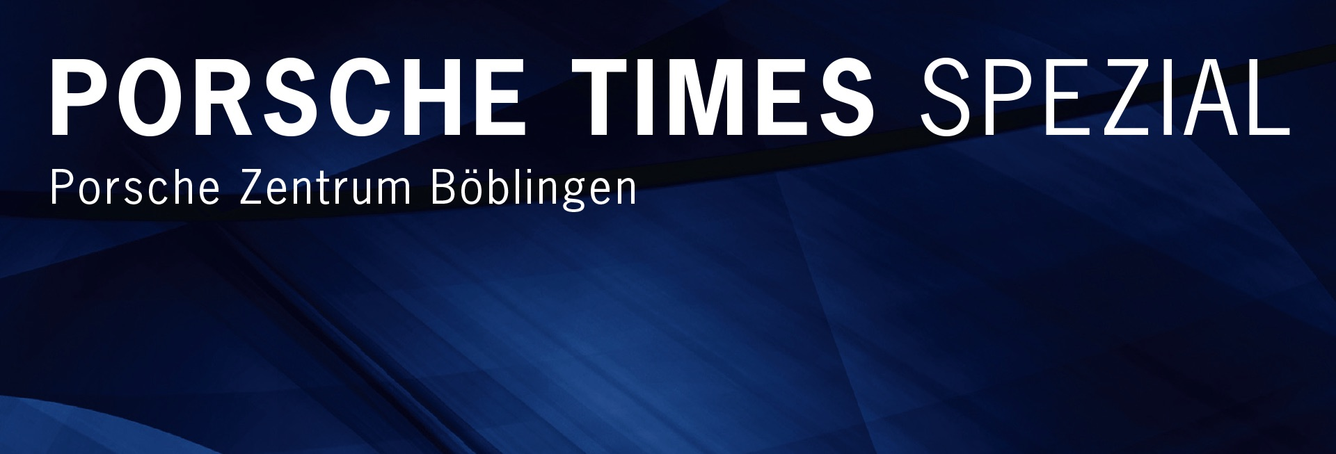 Das Porsche Times Spezial Magazin