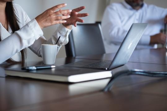 Meeting Brainstorming Marketingstrategie